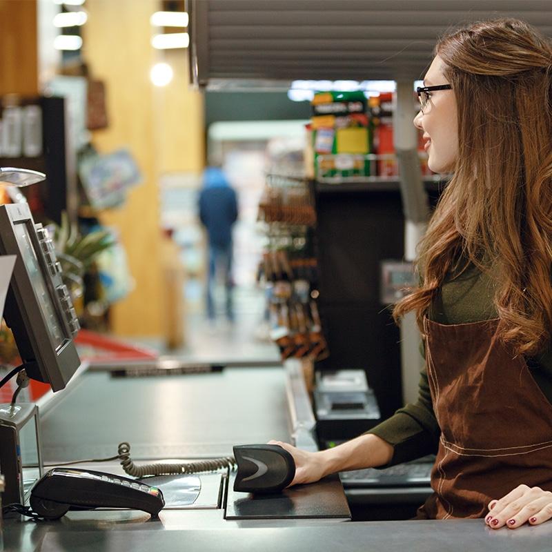 Digitales Store Management von Axiomtek